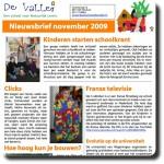 Nieuwsbrief november 2009
