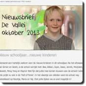 Nieuwsbrief oktober 2013