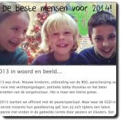 Nieuwsbrief december 2013